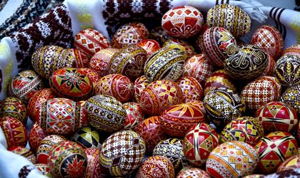 Hidden Romanian Traditions On Easter In Bucovina Charming Painted