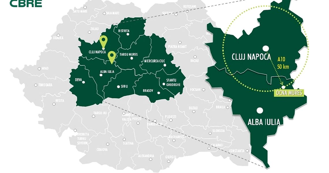 Fast Development Of Cluj County Draws Investors Interest To