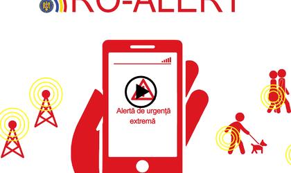 ISU Bucharest-Ilfov to start testing the Ro-Alert system on