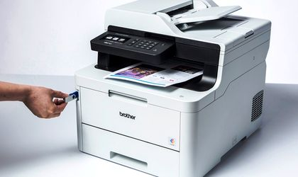 The new Brother printer that combines fax function and NFC