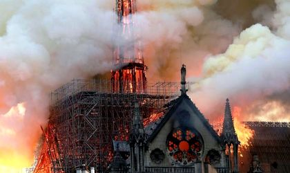 Update Notre Dame Cathedral Partially Destroyed By Fire